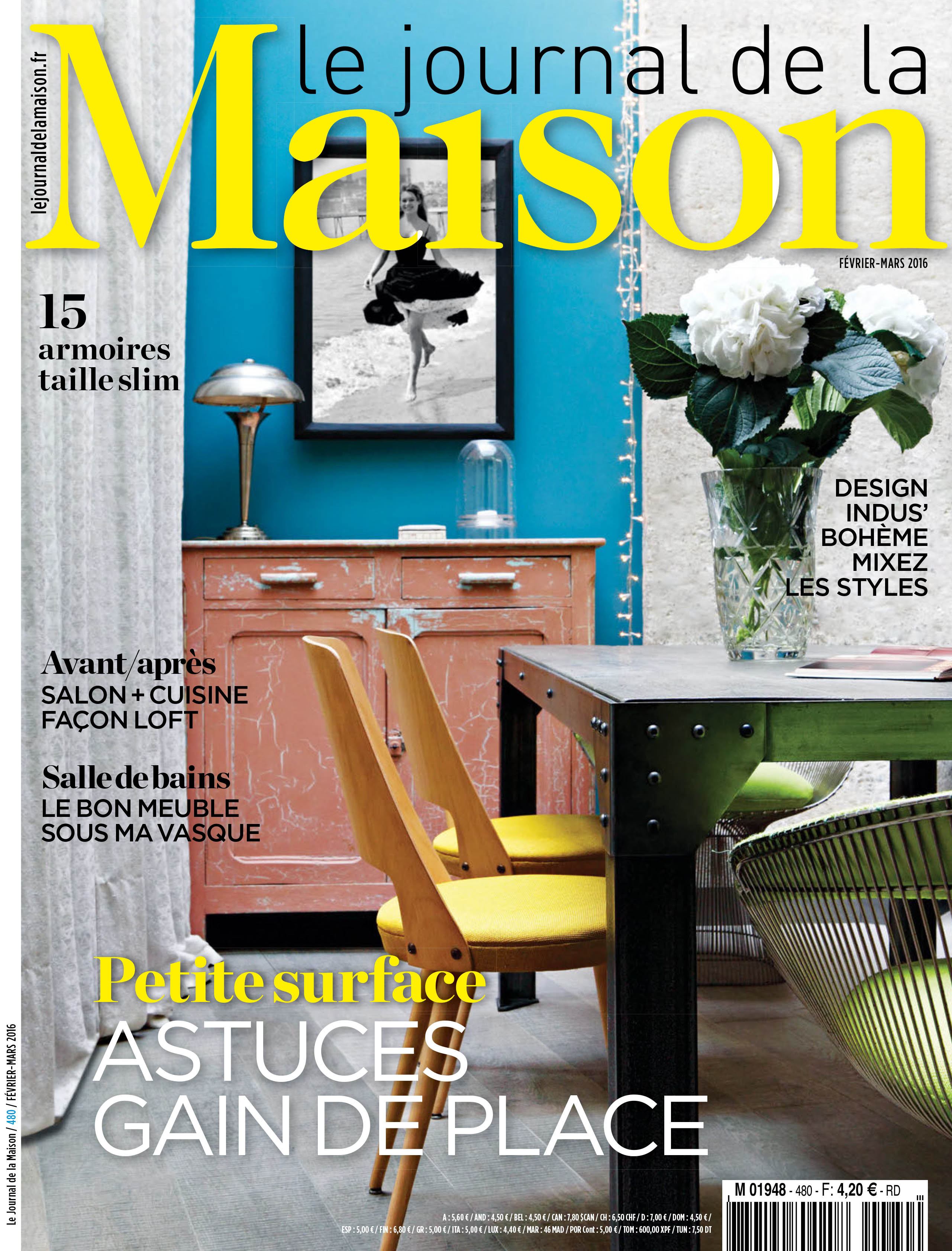 basset images le journal de la maison fev mars 2016. Black Bedroom Furniture Sets. Home Design Ideas
